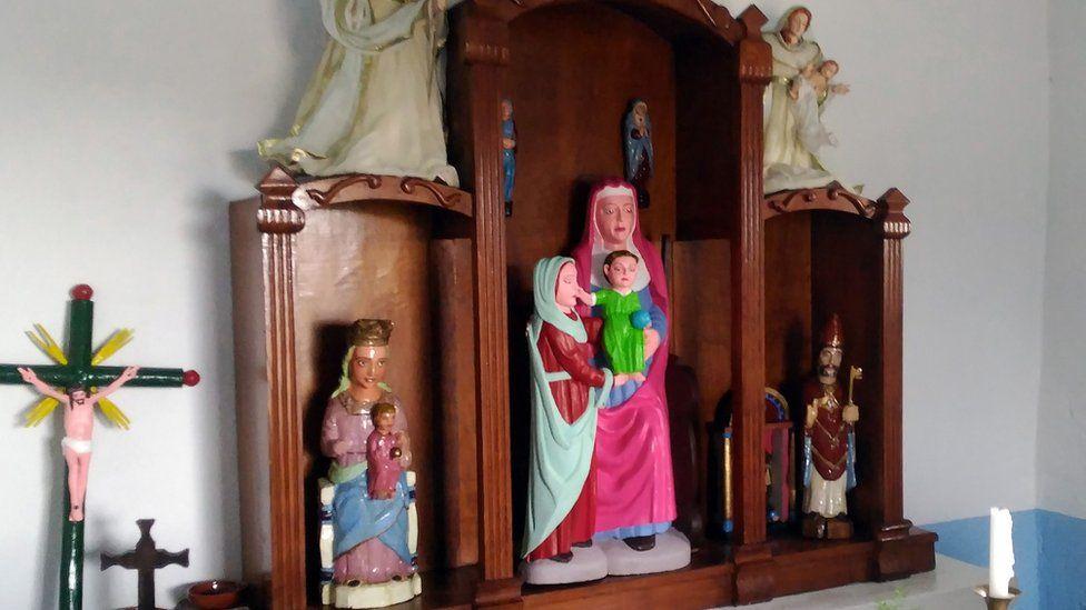 The three restored figures