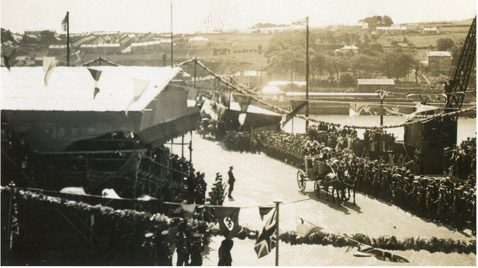 opening of Craigvon bridge