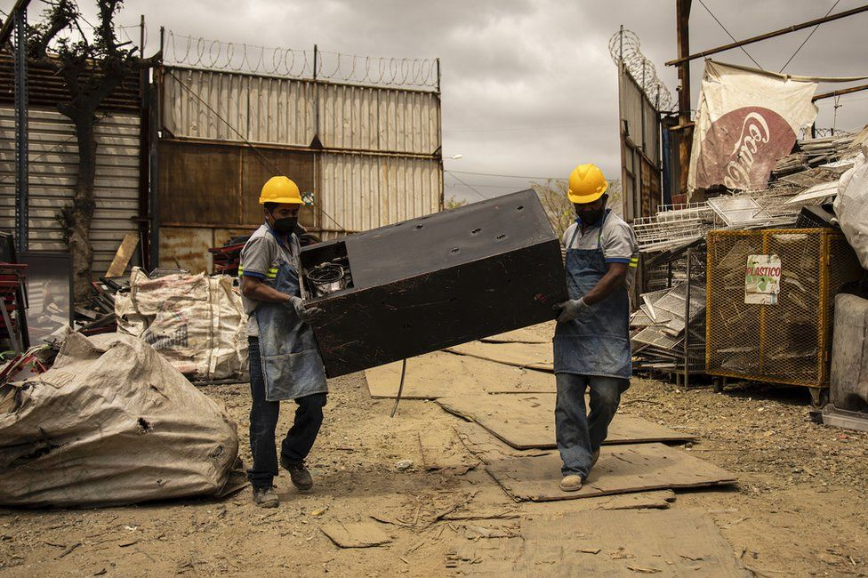 Workers in Guatemala City