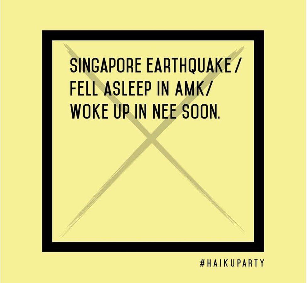 Illustration of Singapore 2015 general election haiku by Haiku Party