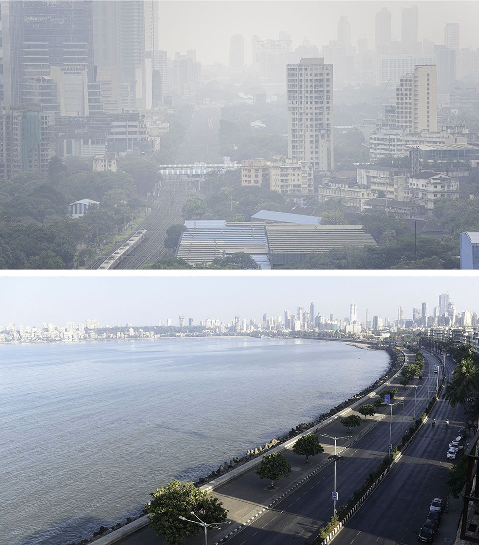 Mumbai before and after the lockdown