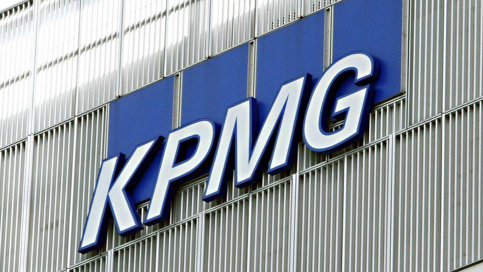 KPMG sign