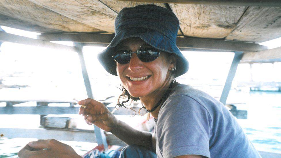 Kate Osborne in Indonesia, aged 33