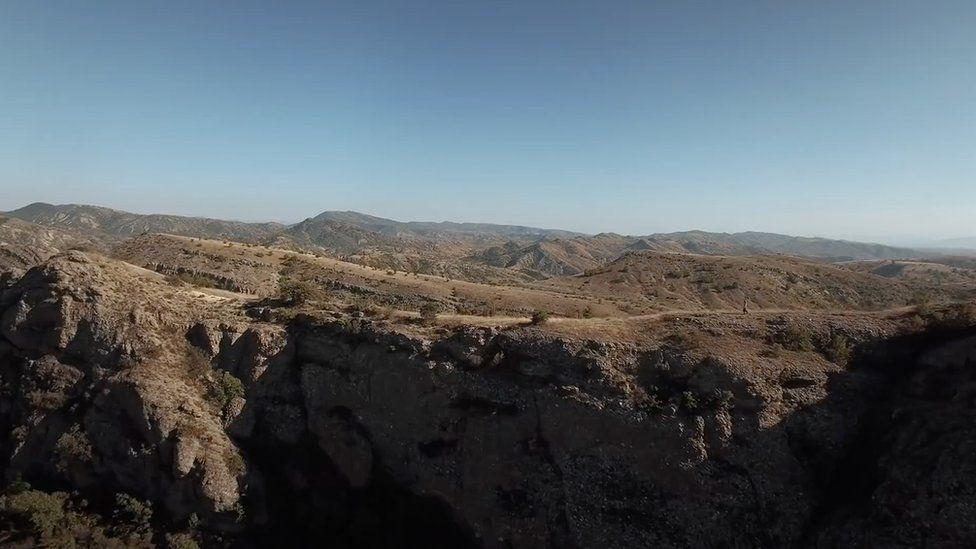 North Macedonia mountains where Hatidze lives