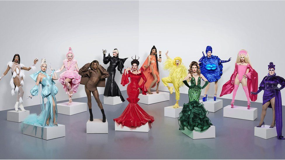 The queens of RuPaul's Drag Race UK
