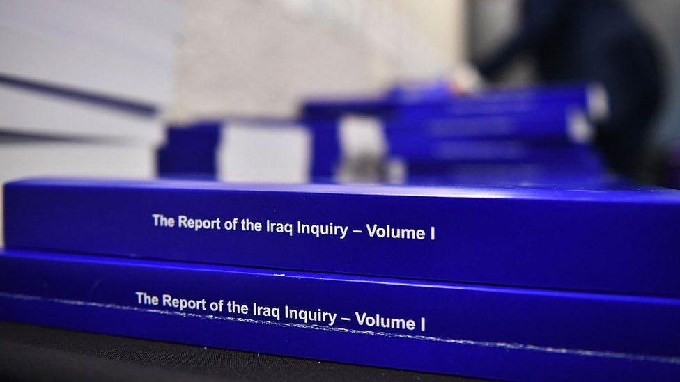 Copies of the Iraq Inquiry report