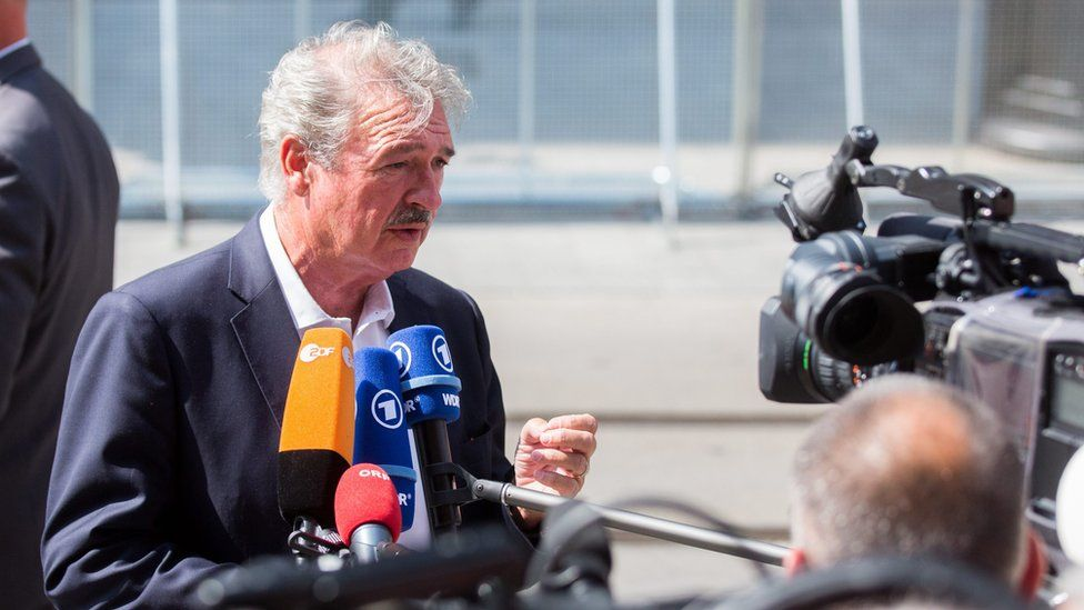 Jean Asselborn, Luxembourg foreign minister (file pic)