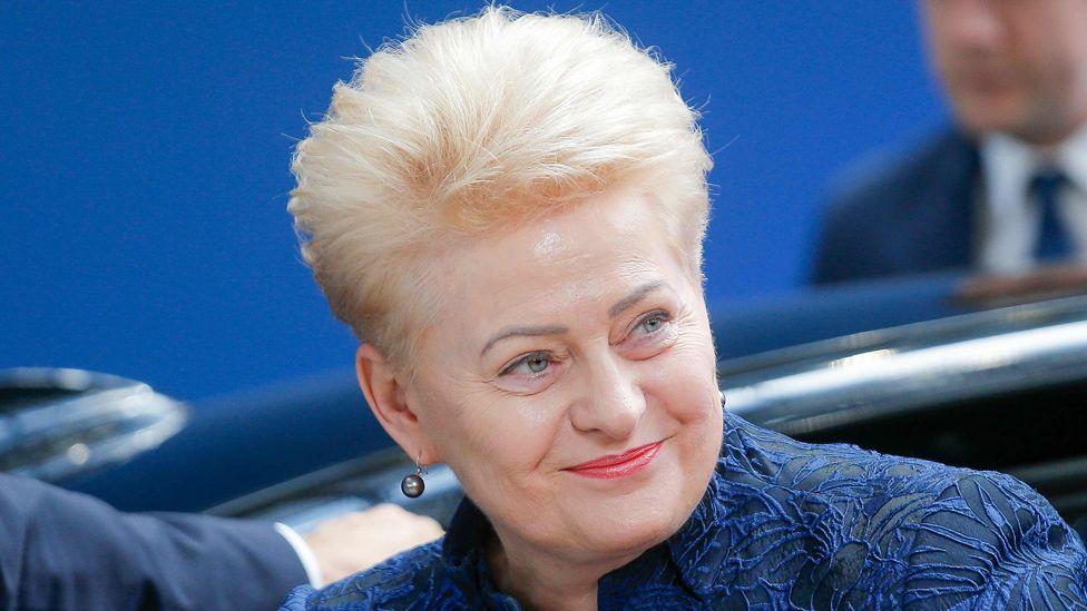 Dalia Grybauskaite in Brussels, 20 Jun 19