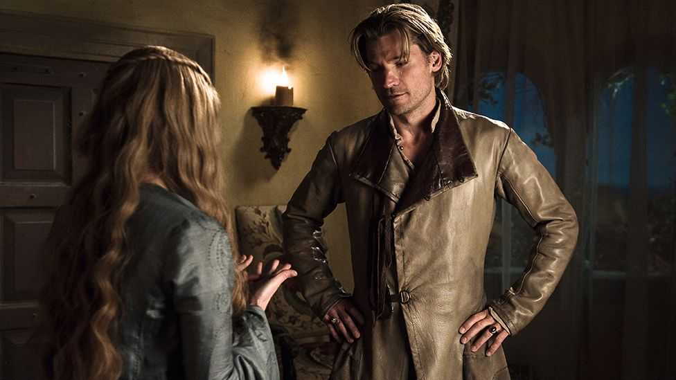 Cersei and Jaime Lannister in season one