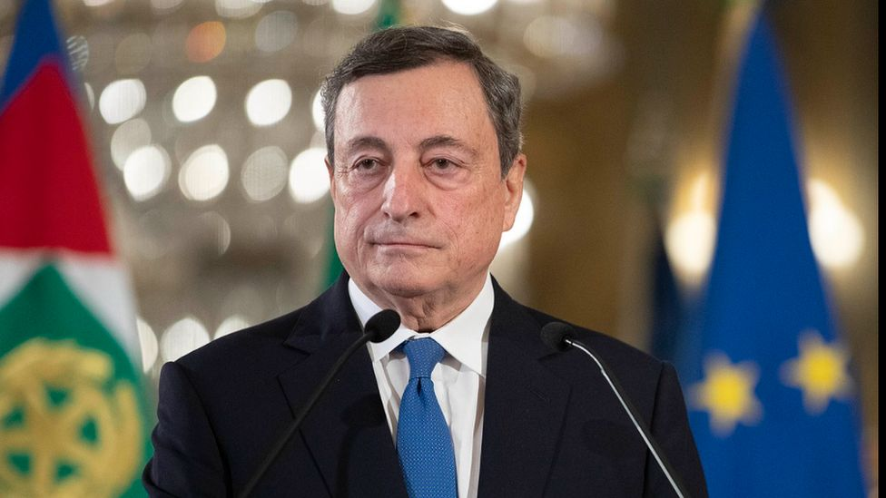 Italian Prime Minister Mario Draghi