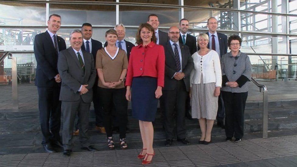 Plaid Cymru AMs after 2016 election