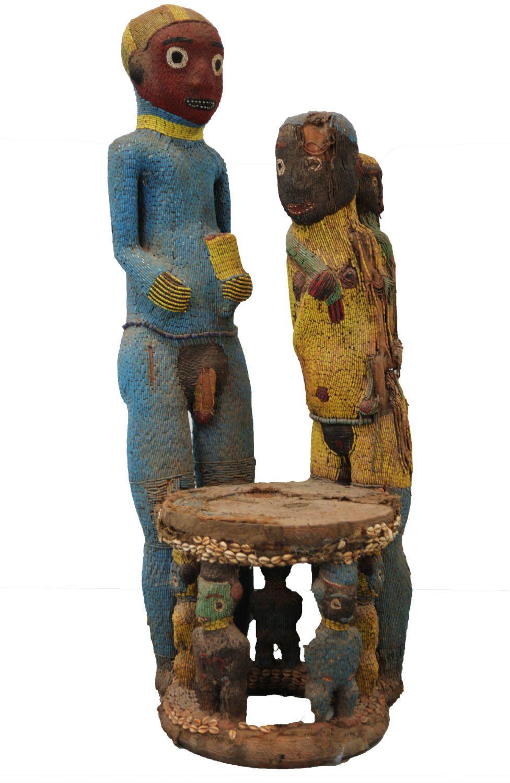 An artwork from Cameroon's Bamoun community