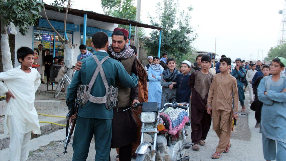 Taliban and police