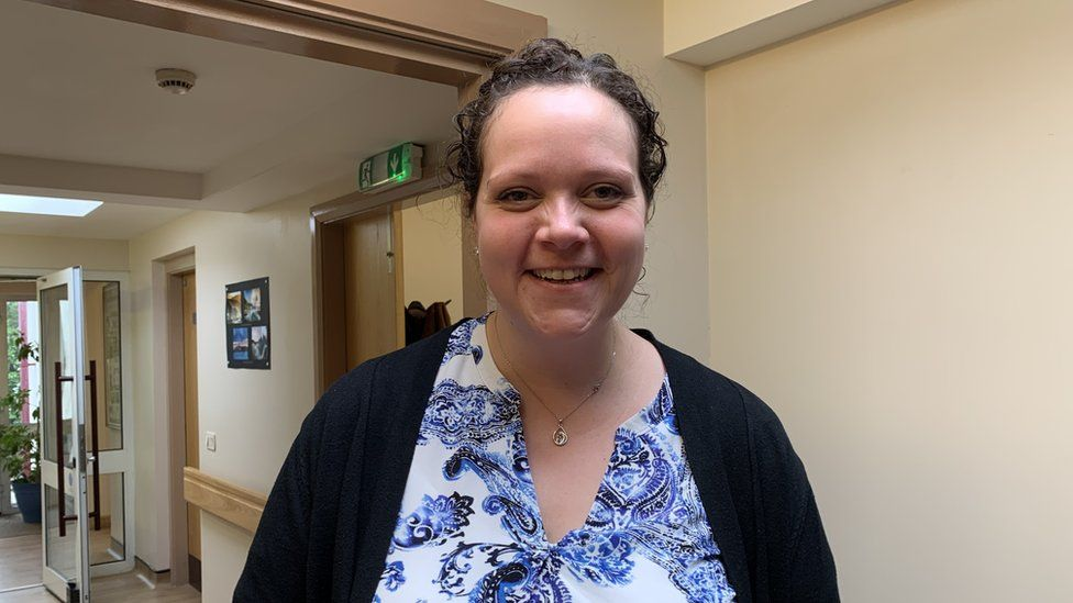 Community support service manager Rosalind Lane