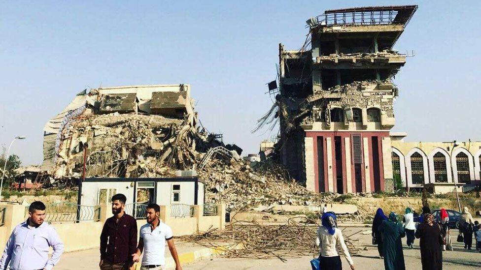 Mosul presidency building