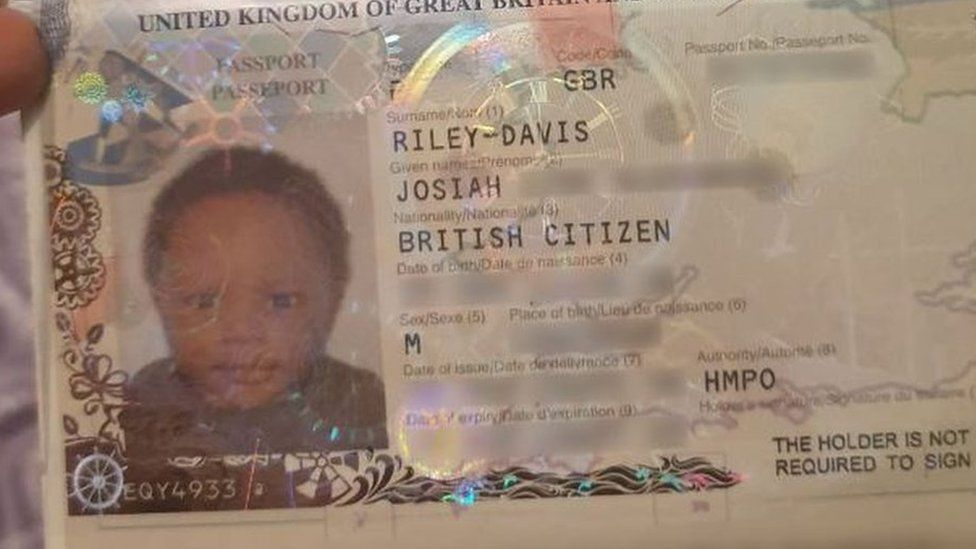 Mum travels on baby son's passport from Luton Airport