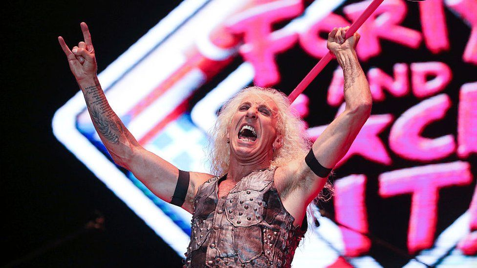 Dee Snider on stage