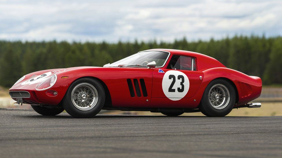 A 1962 Ferrari 250 GTO