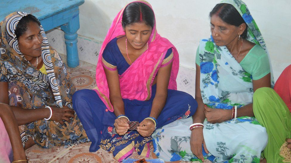 Nirma Devi with village women