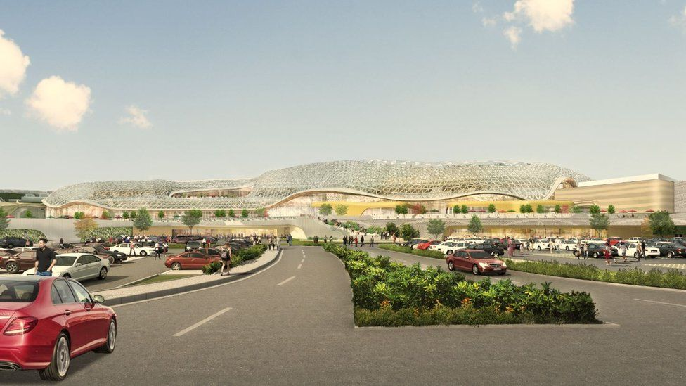 Sheffield Meadowhall Shopping Centre Plans 300m Leisure Hall Bbc News