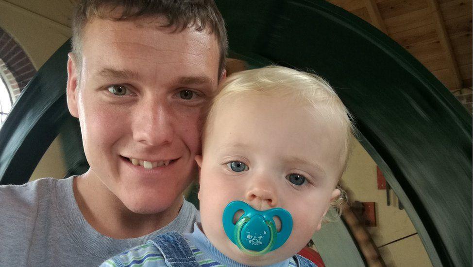 Gareth and his son