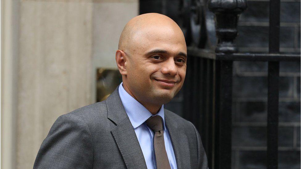 Business secretary, Sajid Javid