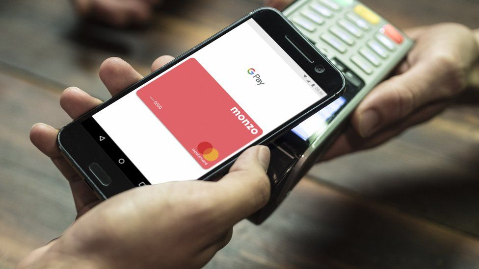 Monzo banking mobile-app