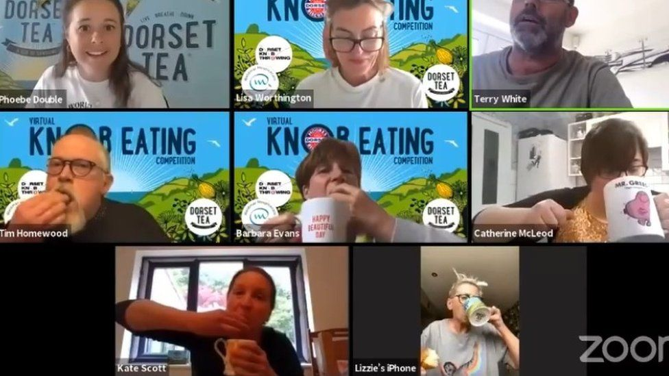Knob eating