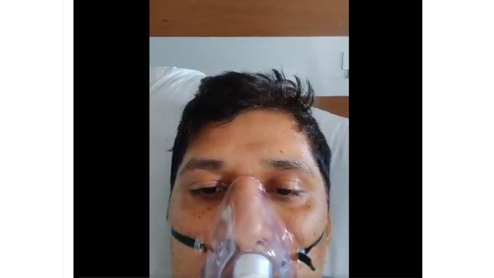 Politician Saurabh Bharadwaj speaks from his hospital bed