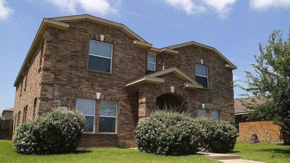 House of Micah Johnson, suspect in shooting incident in which five police officers were killed, in Mesquite, Texas, July 8, 2016