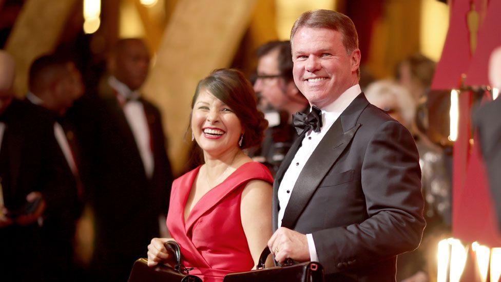Martha Ruiz and Brian Cullinan