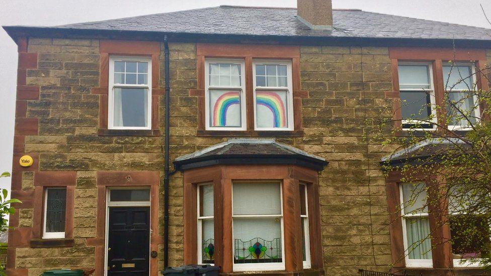 windows in Edinburgh