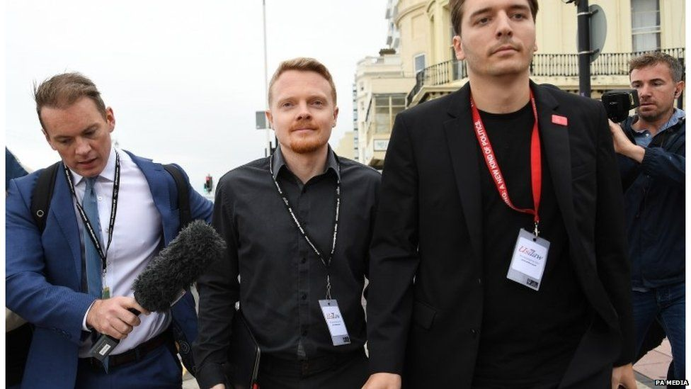 Andrew Fisher and other Labour aides