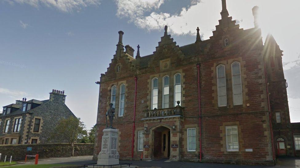 Stranraer Sheriff Court