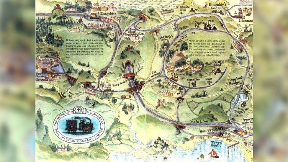Ivor's map
