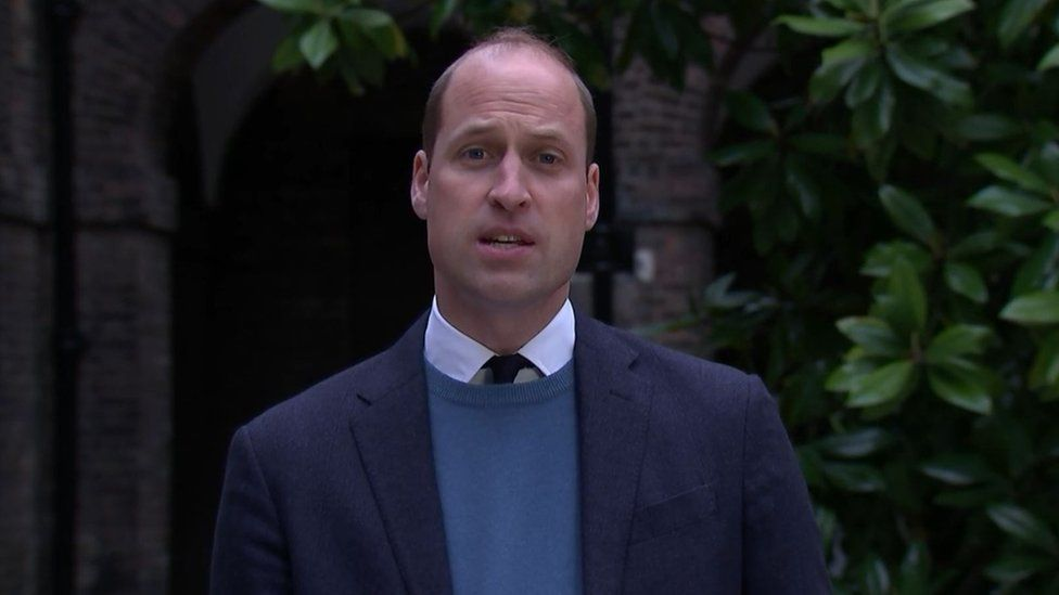 The Duke of Cambridge made a statement following the publication of Lord Dyson's report