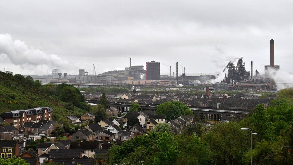 view of Port Talbot