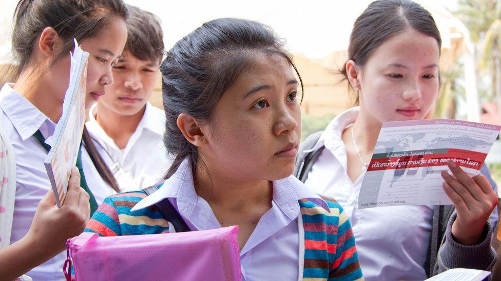 lesson in Laos