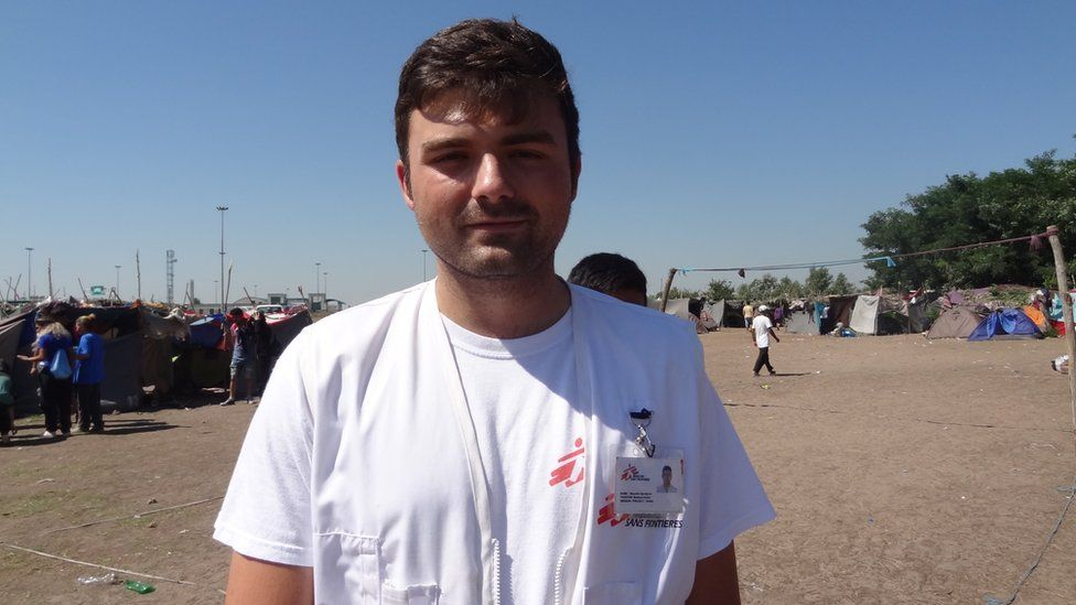 Momcilo Djurdjevic, a doctor from MSF (Doctors Without Borders)