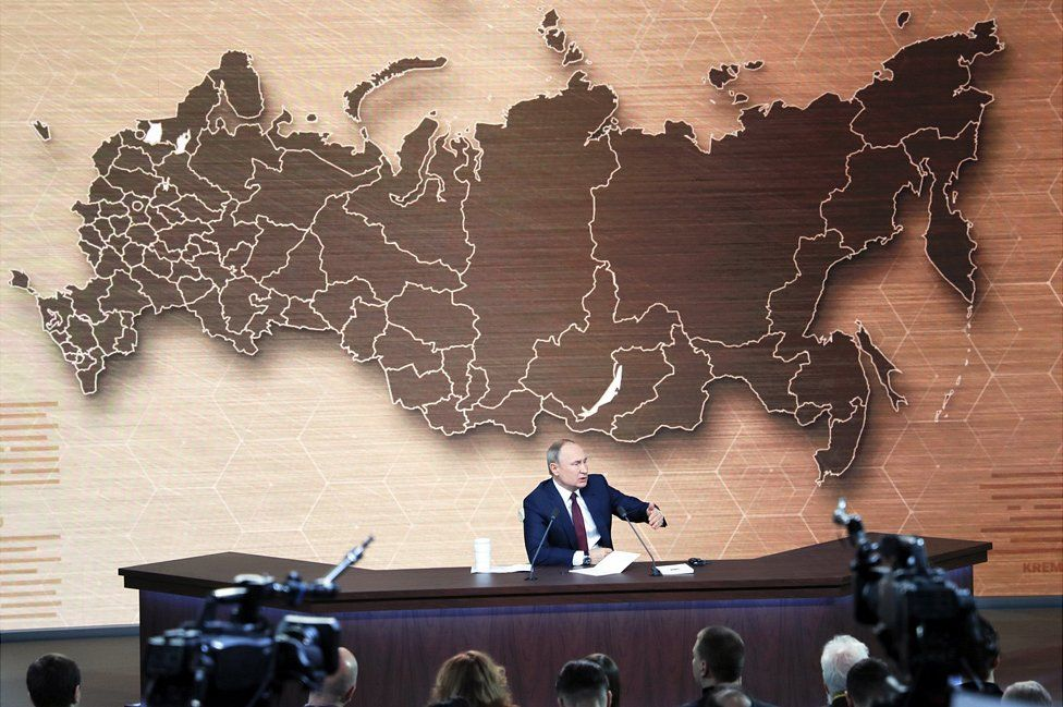 President Putin at press conference, 19 Dec 19