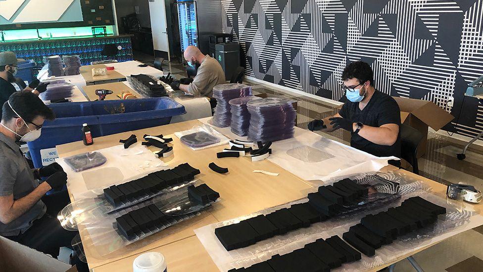 MHub's volunteer engineers are making PPE for frontline workers