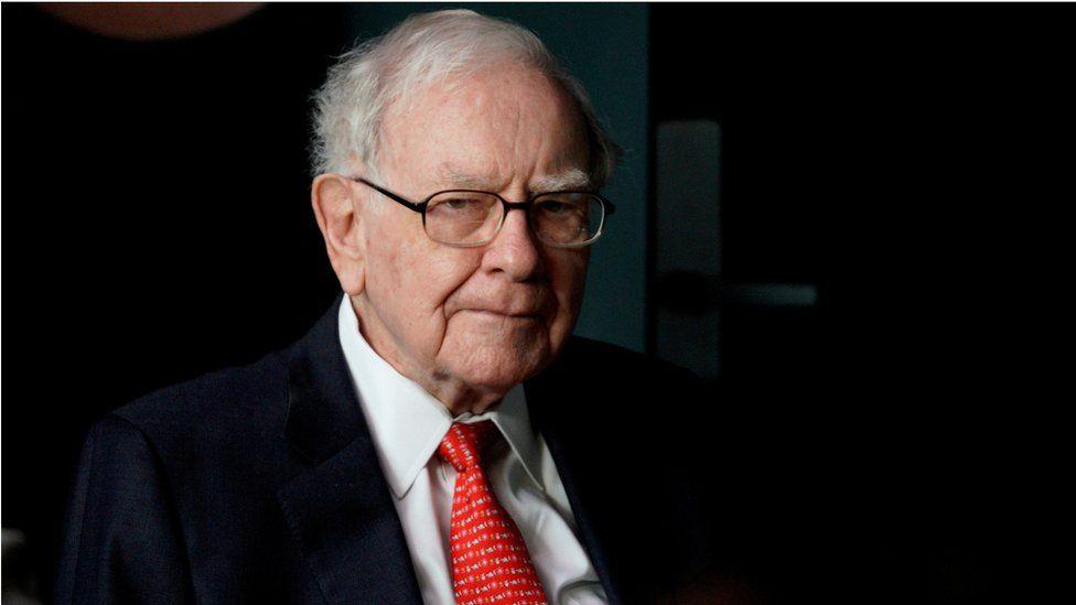 Warren Buffett, CEO of Berkshire Hathaway Inc