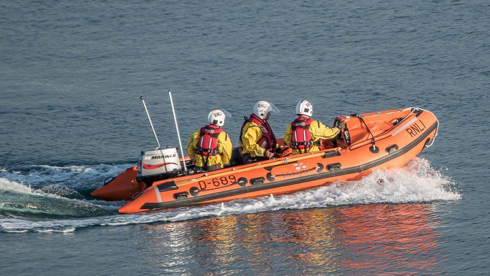Moelfre Inshore lifeboat 'Enfys'