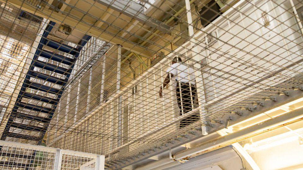 Prison officer in jail