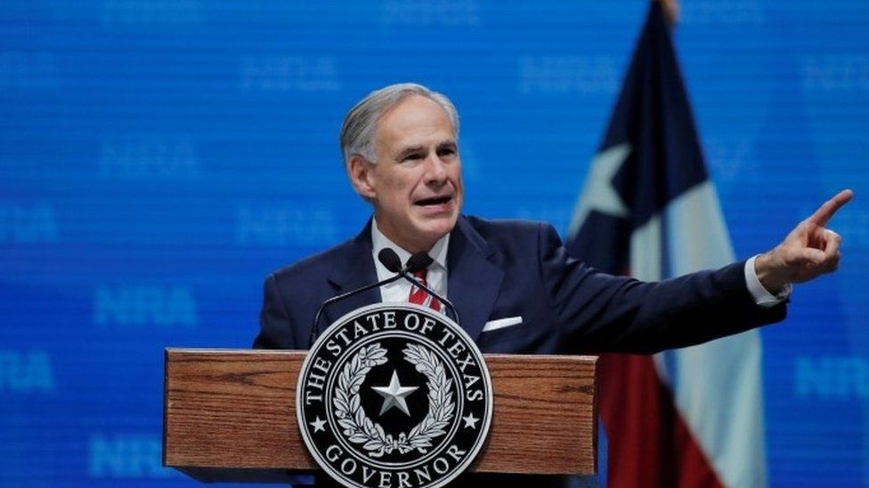 Greg Abbott (file picture)