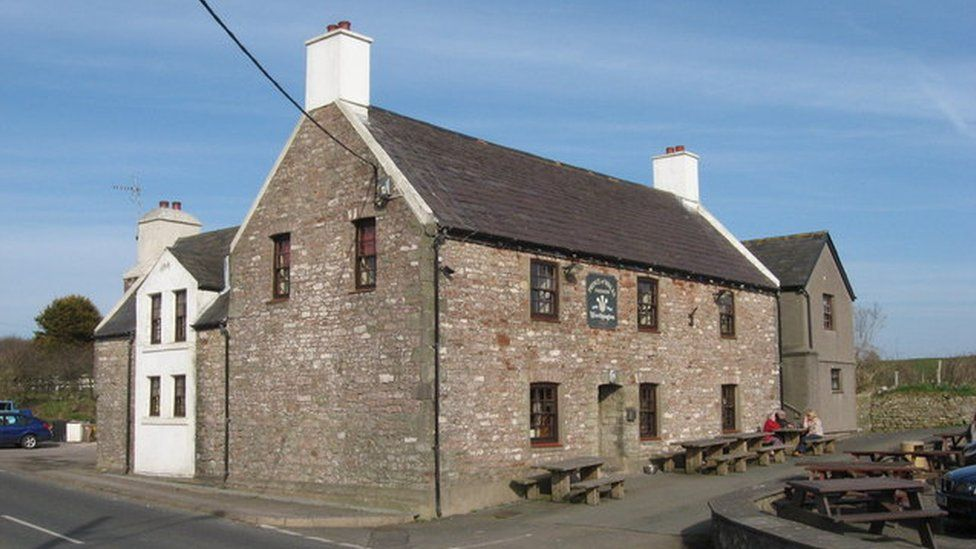 The Prince of Wales pub, Kenfig