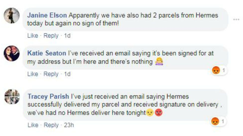 Comments from Spotted Barrow-upon-Soar Facebook page