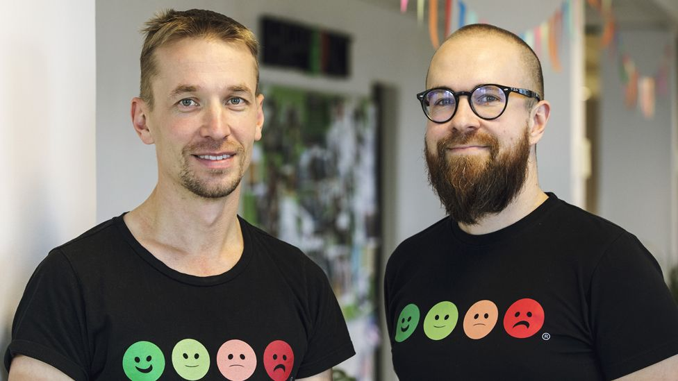 Heikki Vaananen (left) and Ville Levaniemi