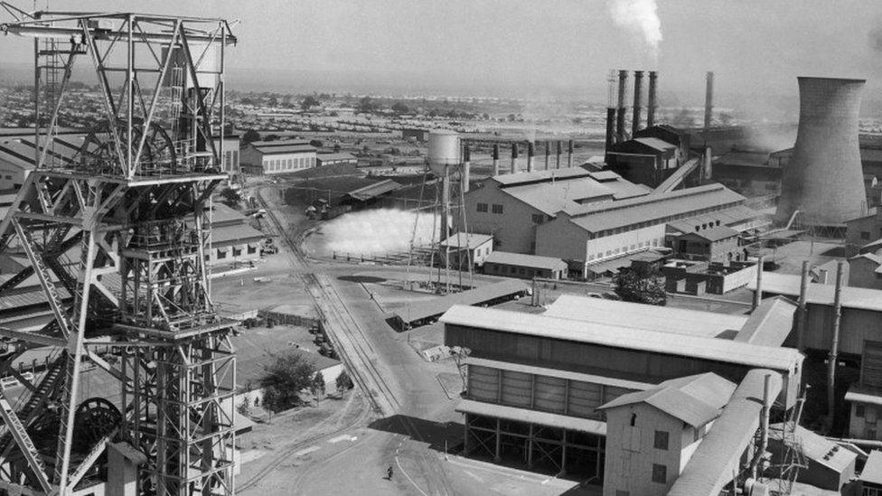 Copper Mine Of Mufulira In Zambia 1964