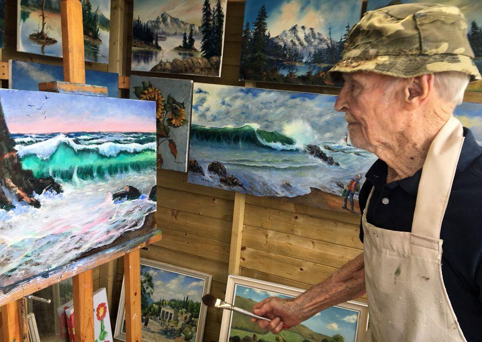 Jack pintando